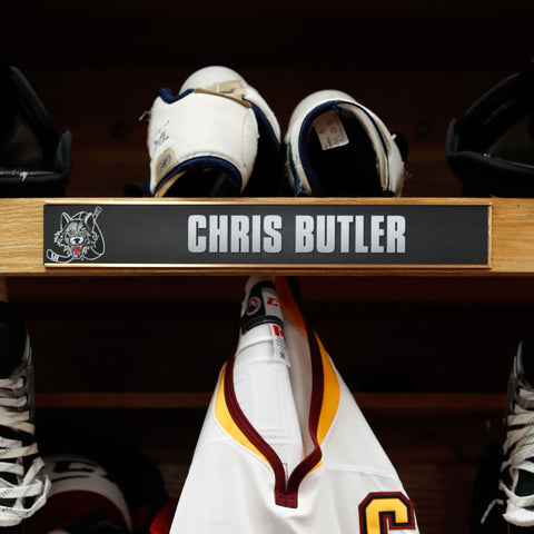 Locker Room Nameplates - 2016-17 & 2015-16