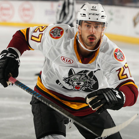 Brandon Pirri Game Worn White Jersey Raffle