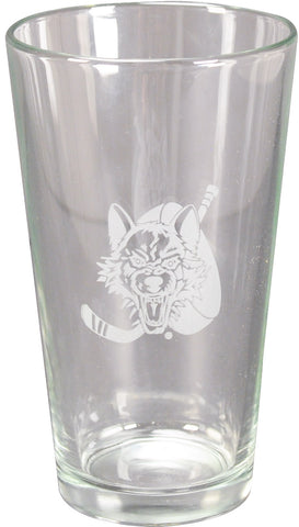 Wolves Pint Glass