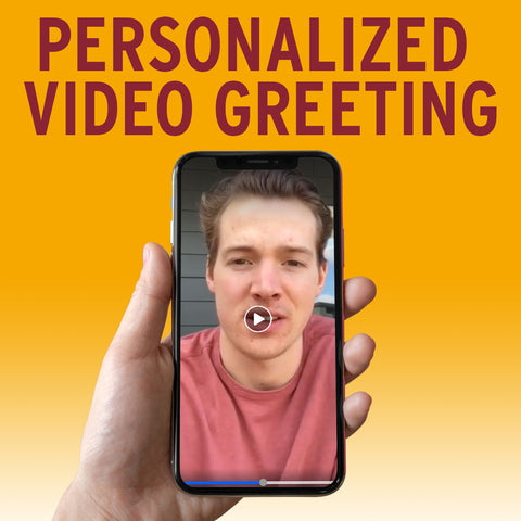 Personalized Player Video Greeting