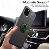 Luxury Finger Magnetic Bracket Case Cover for iPhone 11 | 11 Pro | Max