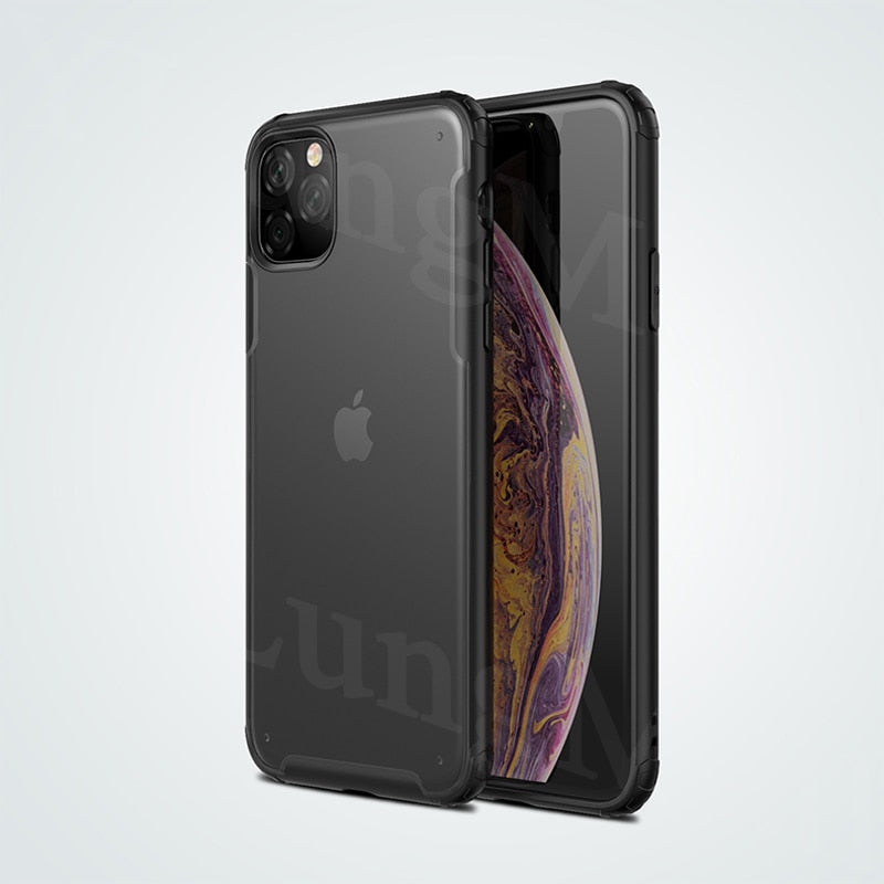 Pro-Armor Shockproof Soft Case & Cover for iPhone 11 | 11 Pro | Max | X | XS | Xr