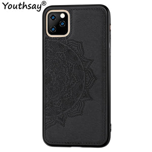 "Luxury Cloth Fabric Anti-knock Case For iPhone 11 Cover For iPhone 11 2019 Case 6.1"" Youthsay"