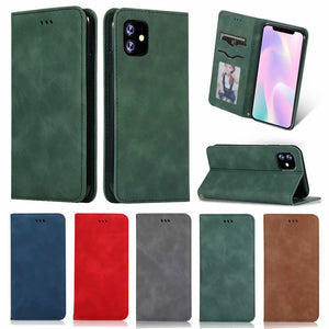 Luxury Business Wallet Card Holder Flip Case For iPhone 11 | 11 Pro | Max