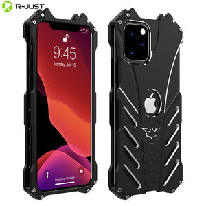 BatMan Luxury Aluminium Metal Bumper Frame Case for iPhone 7/8 | Plus | X/XS/Max | 11 | 11 Pro | Max