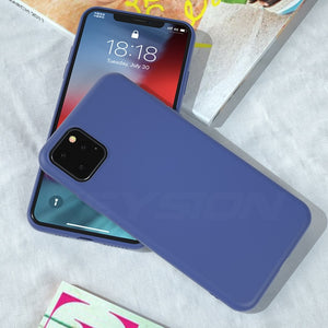 KEYSION Liquid Silicone Shockproof Case for iPhone 11 | 11 Pro | Max