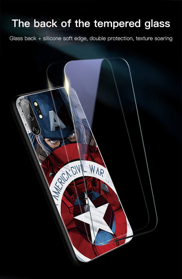 Captain America Case for Samsung Note 10