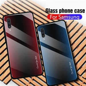 Tempered Glass Case for Samsung S10