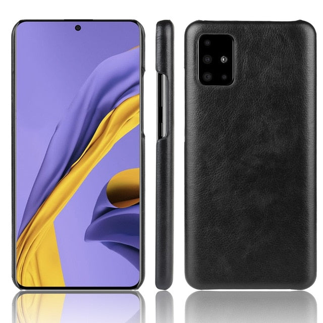 Samsung S10 Plus Thin Leather Cases