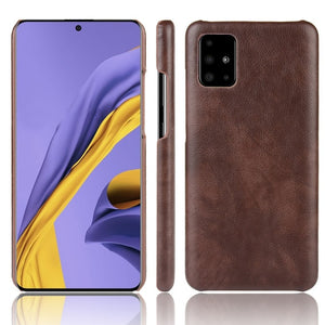 Samsung S10 Plus Thin Leather Case