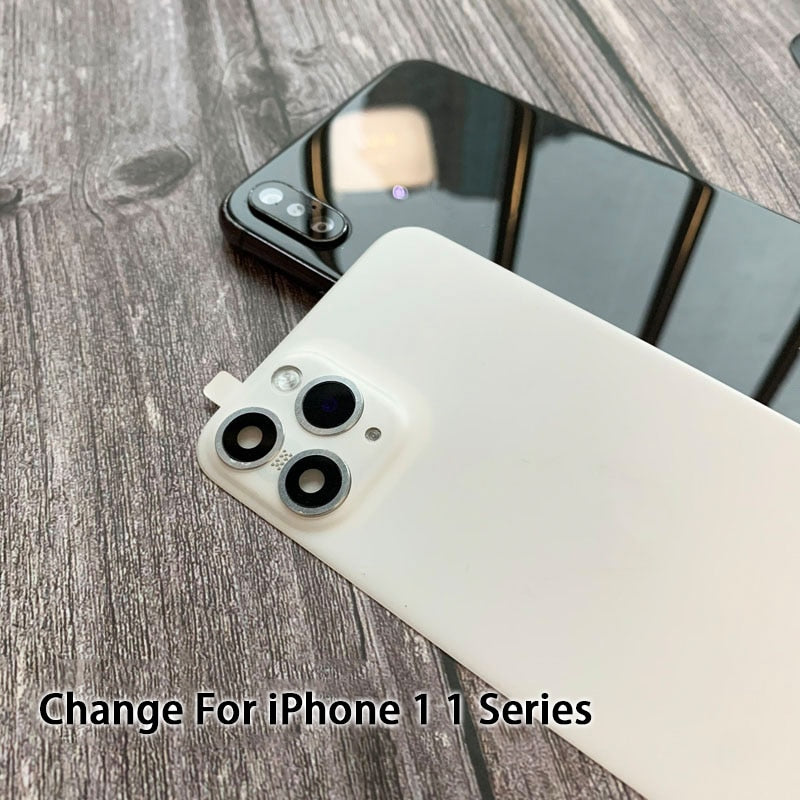 iPhone X | XS | XS Max | Xr Convert into iPhone 11 | 11 Pro | Max Back Glass