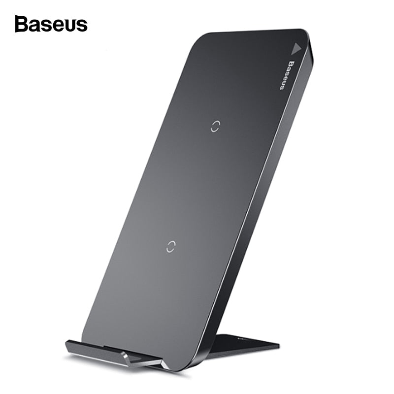 Baseus Wireless Fast Charger with Charging Pad Docking Dock Station for IOS Apple iPhone