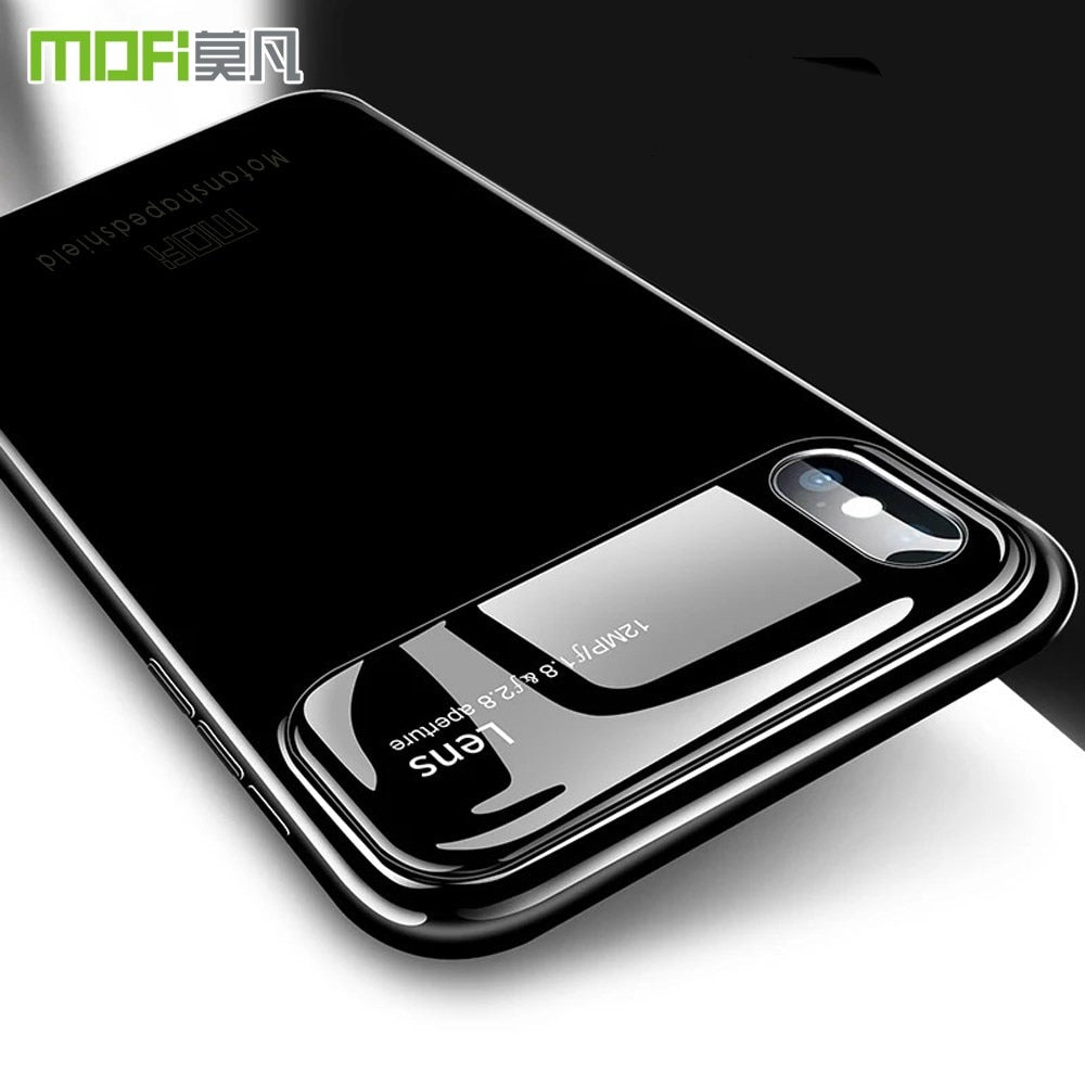 MOFI Shockproof Tempered Glass Hybrid Armour Case For iPhone X | XS Max | Xr