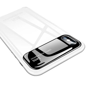 Tempered Glass Case for iPhone X