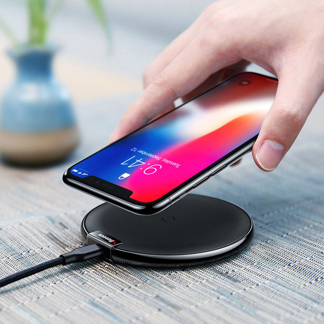 Baseus Wireless Fast USB Charging Pad Charger for IOS Apple iPhone