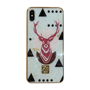 Animal Pattern Leopard Tiger Zebra Marble Flamingo Glitter Cases for iPhone 7 | 8 | Plus | X | XS Max | Xr