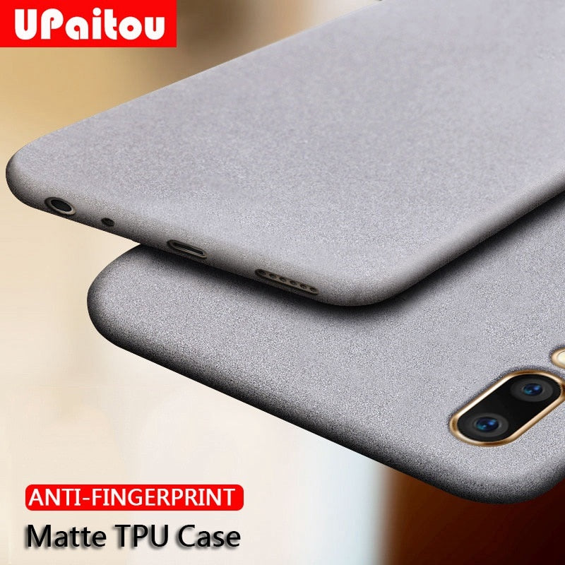 Anti Fingerprint Soft Silicone Matte Finish Ultra Slim Case Cover for Vivo V15 & V15 Pro