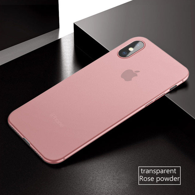 World's Ultra Thin 0.3mm Protective Case For iPhone 7 | 8 | Plus | X | XS Max | Xr