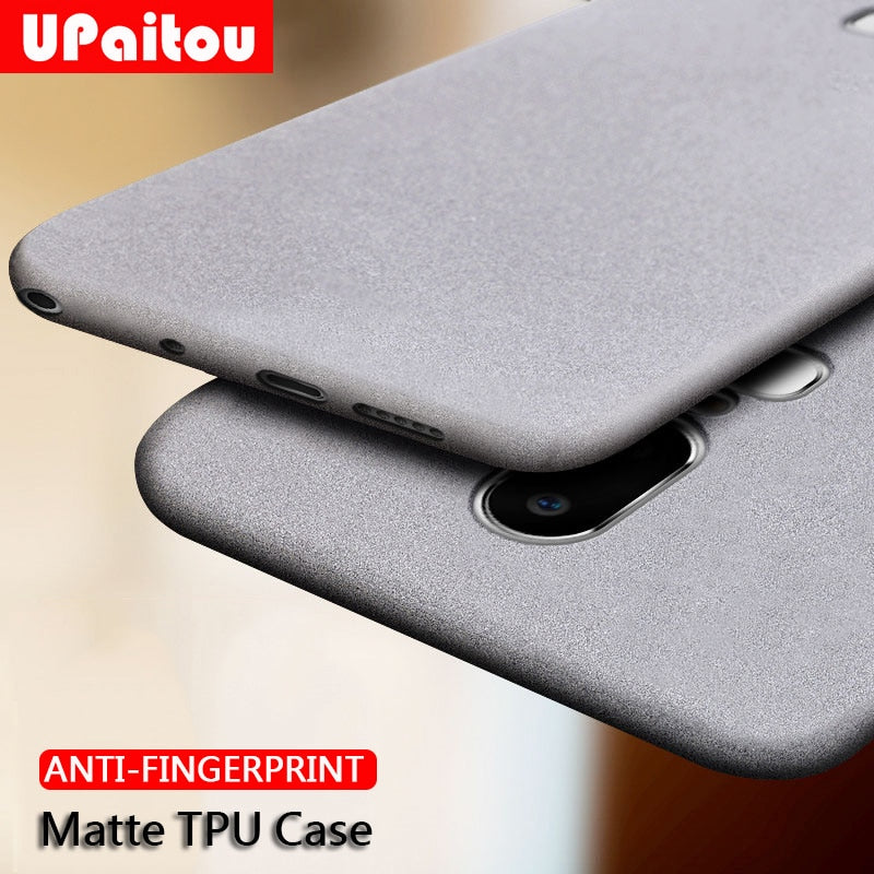 Ultra Thin Anti-finger Soft Silicone Matte Finish Case Cover for ONEPLUS 7 Pro, 7, 6T, 6