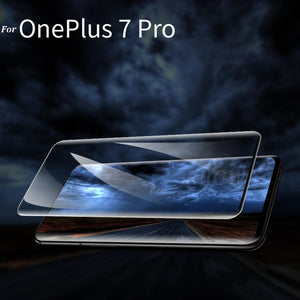 UV Light Full Glue Tempered Glass Screen Protector for ONEPLUS 7 Pro