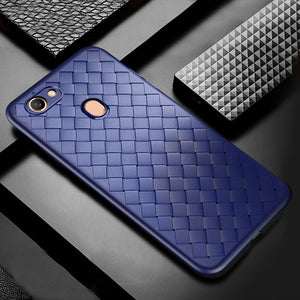Weave Pattern Ultra Thin Soft Case Cover for Vivo V15 & V15 Pro