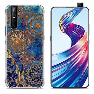 Stylish Painted Anti-Knock Airbag Phone Case for Vivo V15 Pro