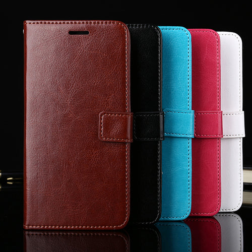Leather Luxury Flip Wallet & Stand Case Cover for Vivo V15 & V15 Pro