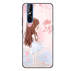 High Quality Art Painted Soft Silicone Skin Back Case Cover Vivo V15 & V15 Pro