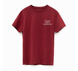 Limited Edition Oxblood Reparations Tea T-Shirt