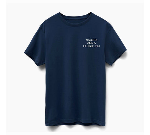 Limited Edition Navy Reparations Tea T-Shirt