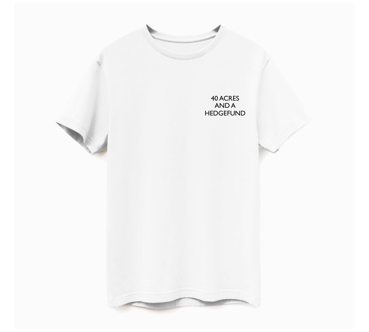 Limited Edition White Reparations Tea T-Shirt