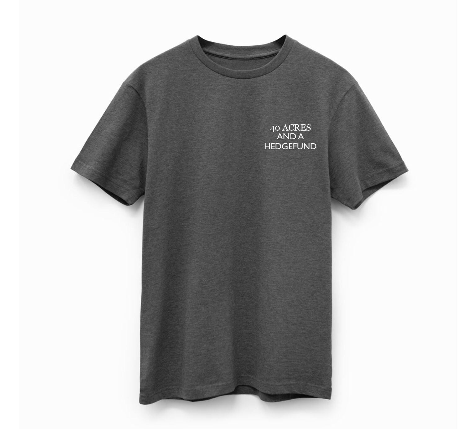 Limited Edition Charcoal Reparations Tea T-Shirt