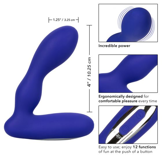 Wireless Pleasure Probe-Blue