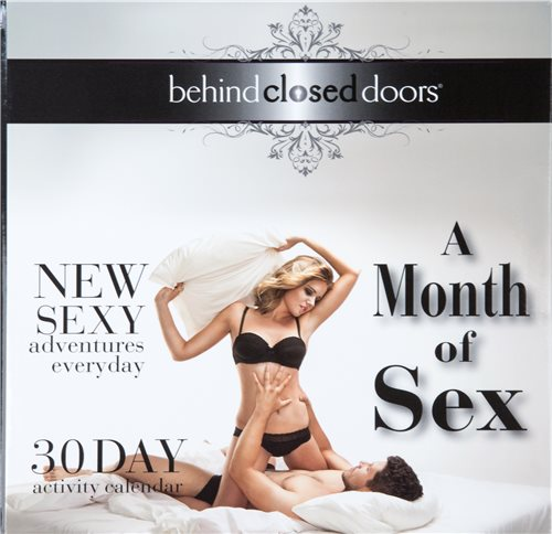 MONTH OF SEX ACTIVITY CALENDAR