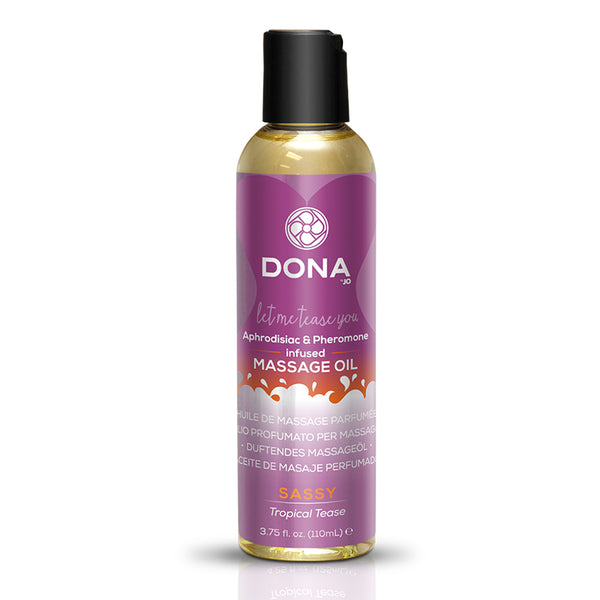 Jo Dona Massage Oil-Tropical Tease