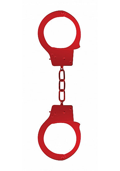 Ouch Beginners Handcuffs-Red