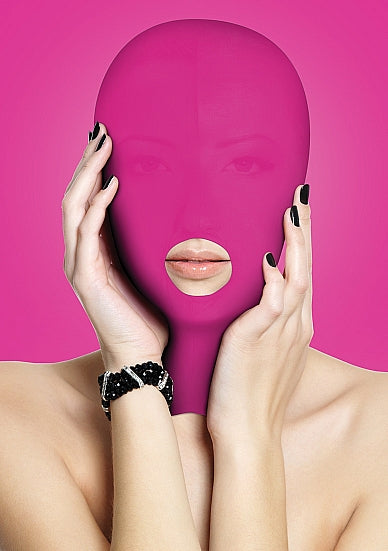 Ouch Submission Mask-Pink (mouth)