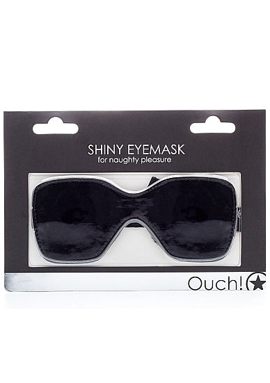 Ouch Shiny Eyemask-Black