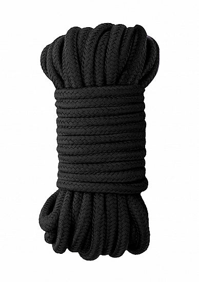 Ouch Japanese Rope 10m-Black Silk