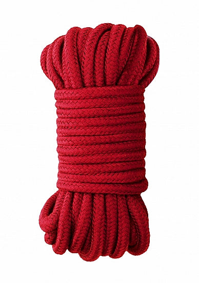 Ouch Japanese Rope 10m-Red Silk