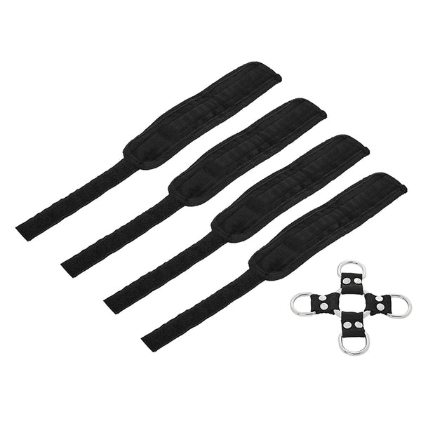 5 Piece Hog Tie & Cuff Set