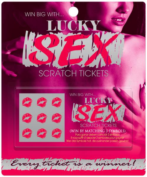Lucky Sex Scratch Tickets