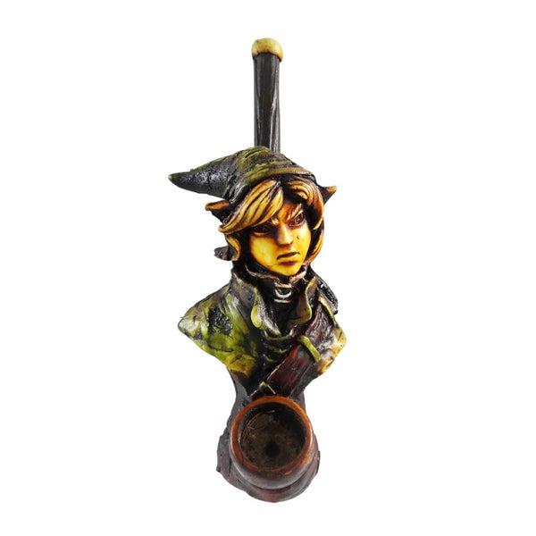 Pipe: Elf (Zelda), Handcrafted Resin and Wood