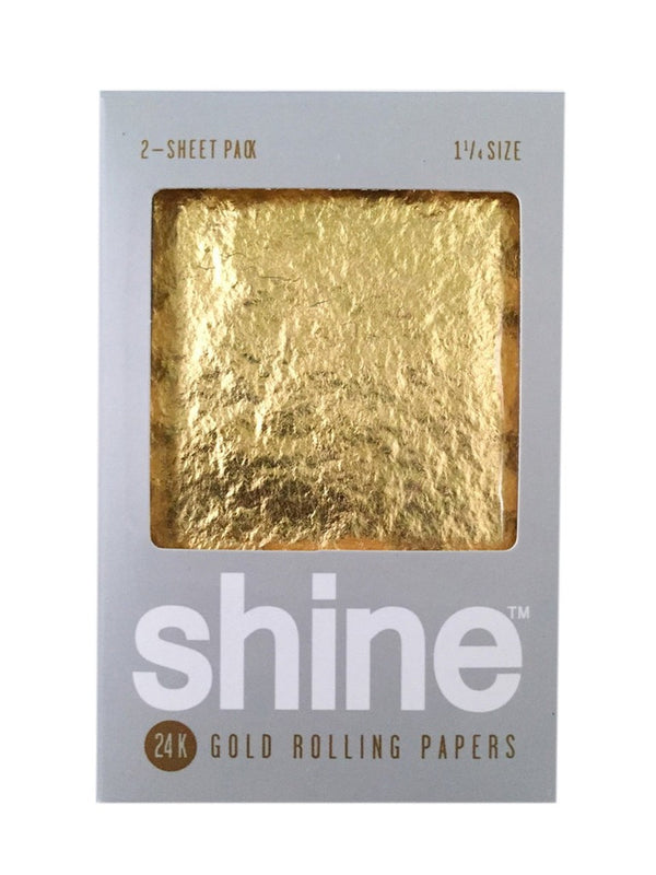 Paper: Shine 24K Gold Papers - 2 sheets