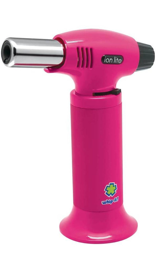 Torch: Whip-It Ion Lite Butane Torch - Pink