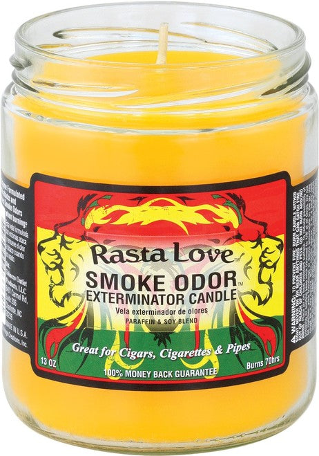 Candle: Rasta Love Odor Exterminator, 13oz