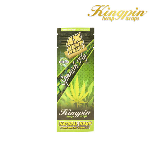 Kingpin Hemp Wrap Spanish Fly-4pk