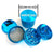 "Grinder: CANNATONIK 2"" 4pc-Light Blue"