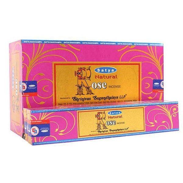 Incense: Satya - Rose Incense 15 gram Box