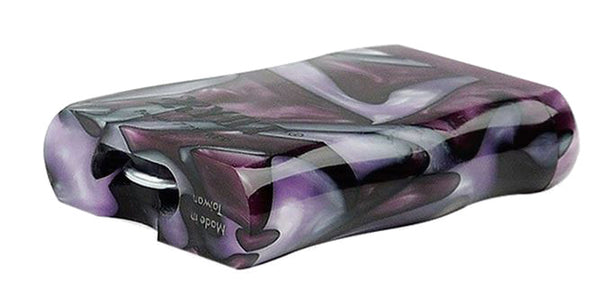 Taster Box: Ryot Acrylic Pattern with Magnetic Lid, Purple, Small